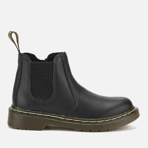 Dr. Martens Kids' 2976 J Softy T Leather Chelsea Boots - Black