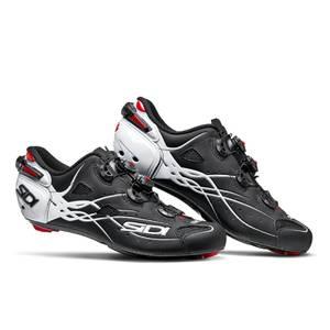 Sidi Shot Carbon Road Shoes - Matt Black/Gloss White