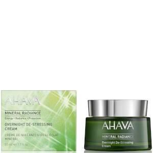 AHAVA Mineral Radiance Overnight De-Stressing Cream 1.7oz