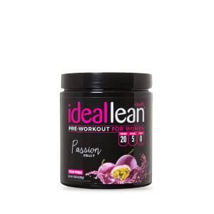 IdealLean Stim Free Pre-Workout - Passion Fruit - 20 Servings