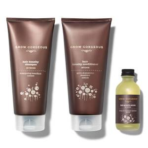 Hair Growth Serum Intense, Density Shampoo Intense and Hyaluronic Density Conditioner (Worth £82)
