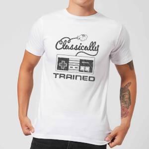 Nintendo Retro NES Classically Trained Men's White T-Shirt