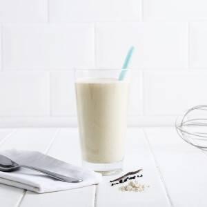 Frullato alla Vaniglia a Ridotto Contenuto di Zuccheri
