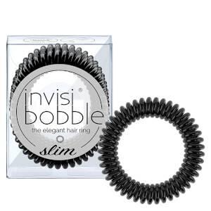 invisibobble Slim Hair Tie – True Black