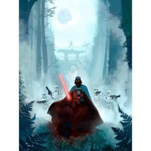 Star Wars: Return of the Jedi 'Vengeful Pursuit' Lithografie door Jeremy Saliba