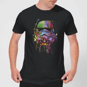 Star Wars Paint Splat Stormtrooper T-Shirt - Black