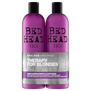 Шампунь и кондиционер для светлых волос TIGI Bed Head Dumb Blonde Repair Shampoo and Reconstructor for Coloured Hair 2 x 750 мл