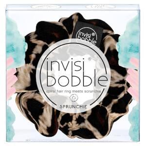 Тканевая резинка-браслет для волос invisibobble Sprunchie Spiral Hair Ring Scrunchie - Purrfection