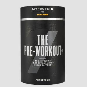 Myprotein THE Pre Workout+ with PhaseTech, Orange Mango, 20 Servings