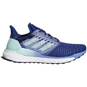 adidas Women's Solar Boost Running Shoes - Mystery Ink