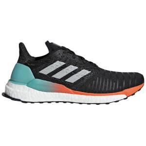 adidas Solar Boost Running Shoes - Black/Aqua