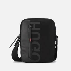 HUGO Men's Tech North South Cross Body Bag - Black