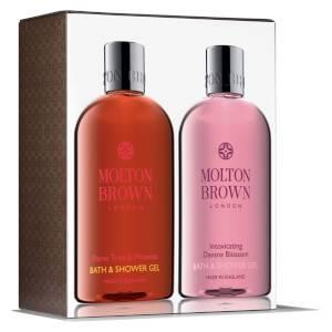 Набор средств для ванны Molton Brown Flame Tree & Pimento and Intoxicating Davana Blossom Bathing Set