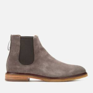 Clarks Men's Clarkdale Gobi Suede Chelsea Boots - Taupe