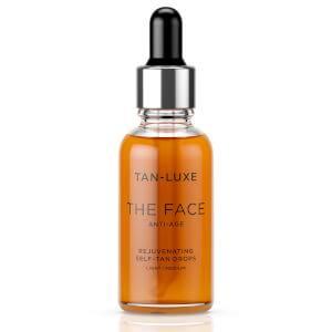 Tan-Luxe The Face Anti-Age Rejuvenating Self-Tan Drops 30ml - Light/Medium