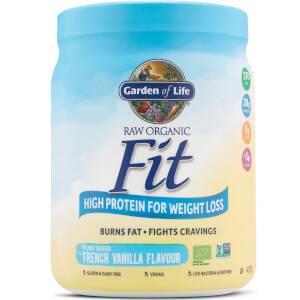 Raw Organic Fit Powder - Vanilla - 457G