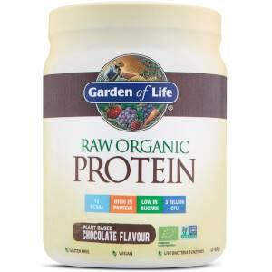Raw Organic Protein Powder - Chocolate - 498G