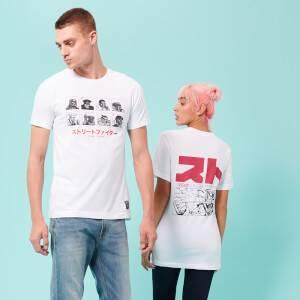 Street Fighter Arcade Vs. Unisex T-Shirt - White