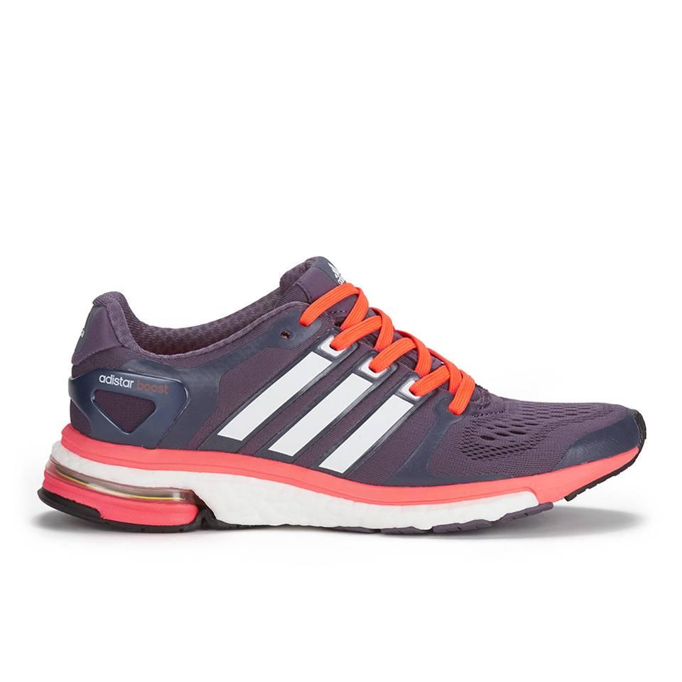adidas Women's Adistar Boost ESM Running Shoes - Purple/White/Orange