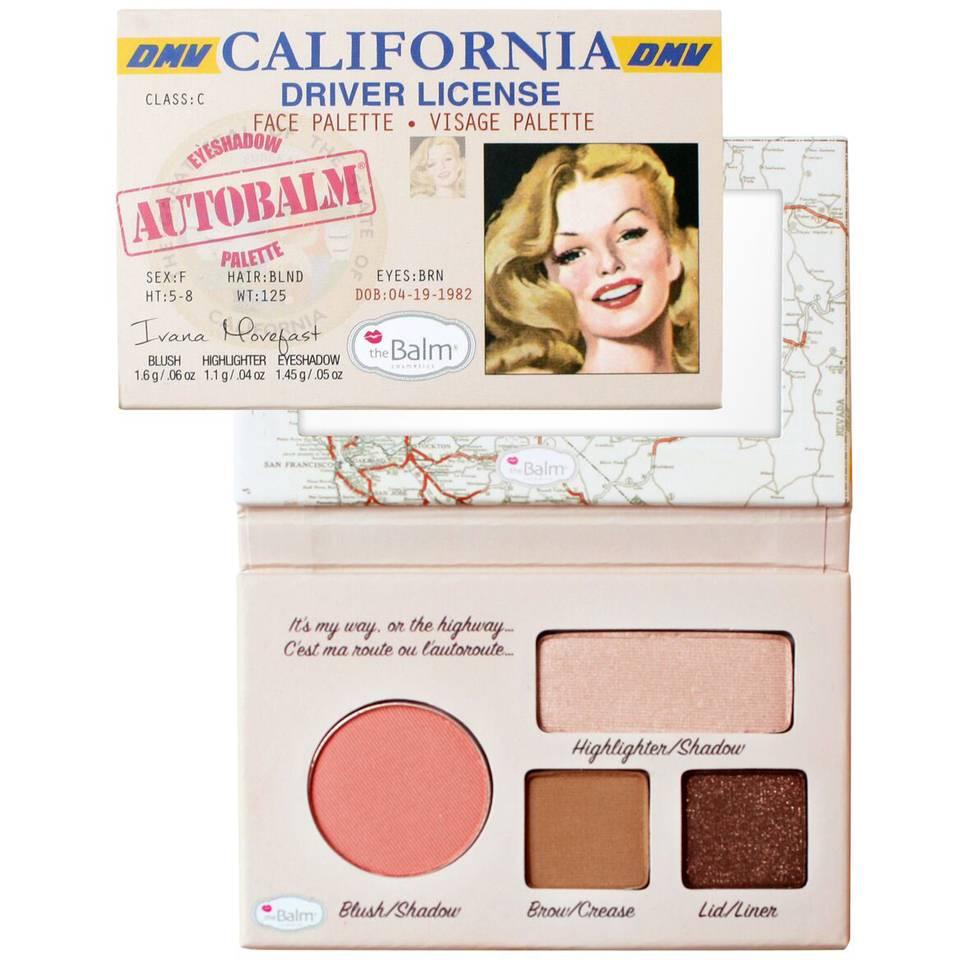 Palette Autobalm California Thebalm