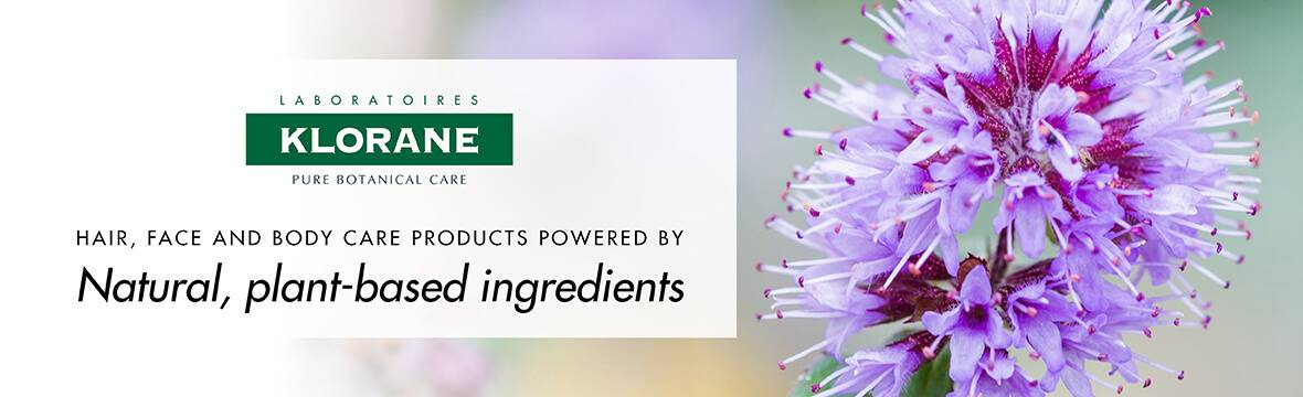 Natural plant-based products from Klorane