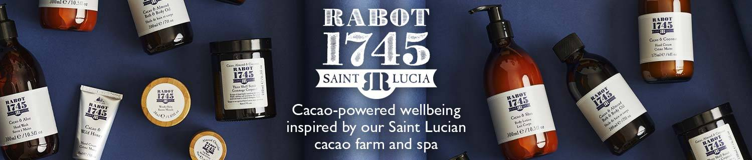 Rabot 1745. Cacao-powered wellbeing inspired by our Saint Lucian cacao farm and spa