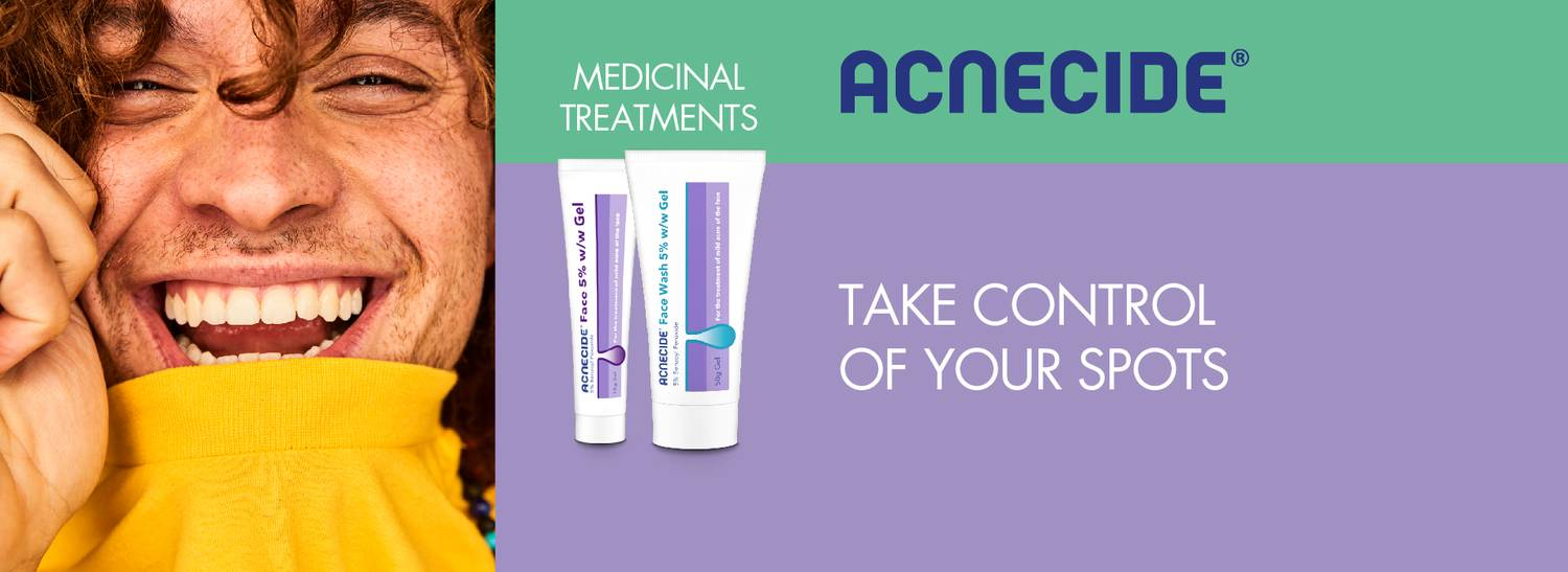 Acnecide helps treat acne