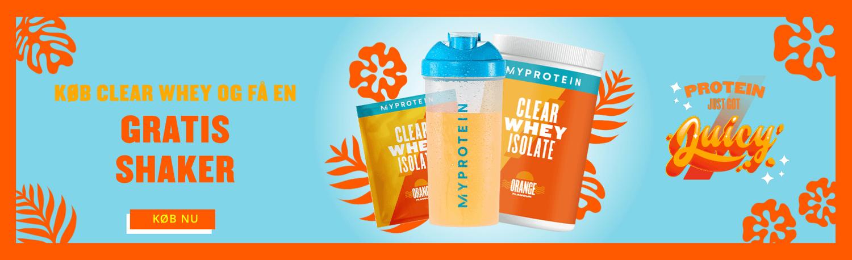 Køb Clear Whey og få en gratis shaker