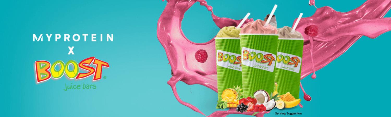 Myprotein & Boost Juice
