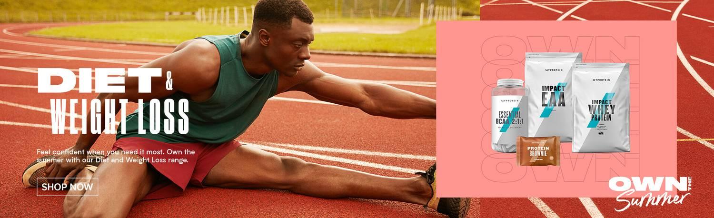 Myprotein Summer goals - diet & weight loss banner