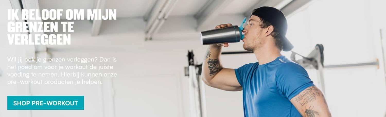 Grenzen verleggen met pre-workout