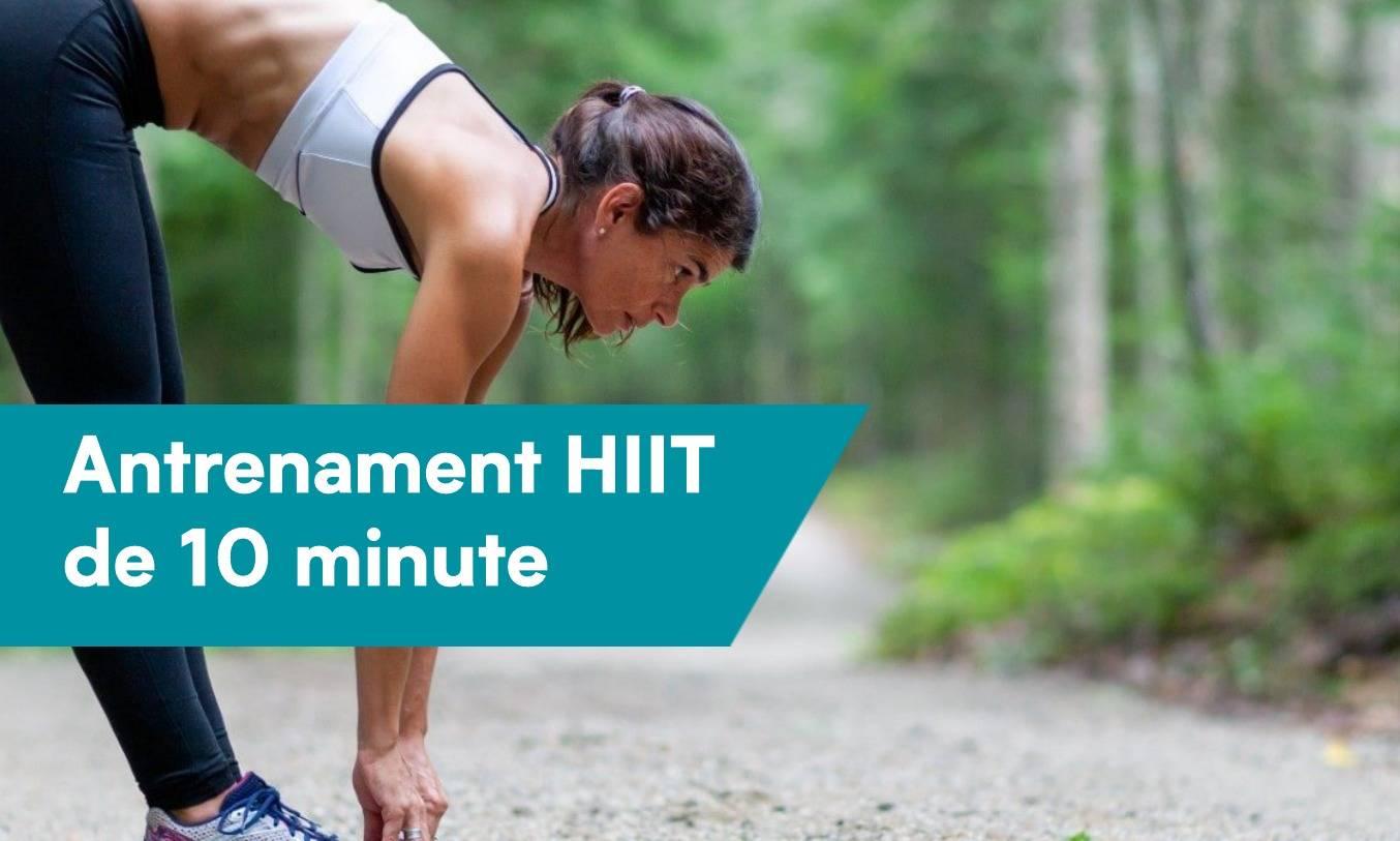 Antrenament HIIT de 10 minute