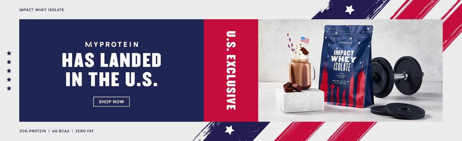 Stars and Stripes Limited Edition Impact Whey Isolate