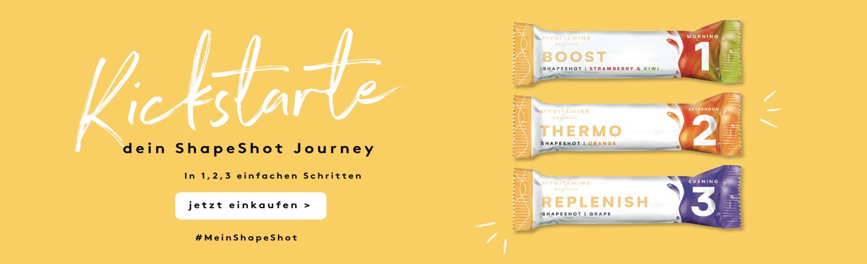 Kickstarte deinen ShapeShot Journey