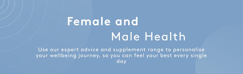 Female and Male Health   Myvitamins