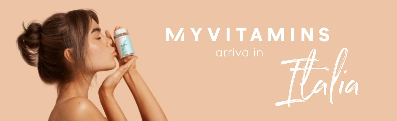 Myvitamins arriva in Italia!