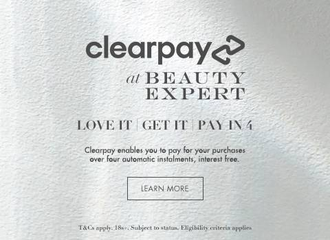 clearpay at beauty expert