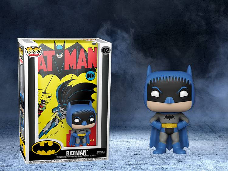 NEW Batman Comic Cover Pop! banner