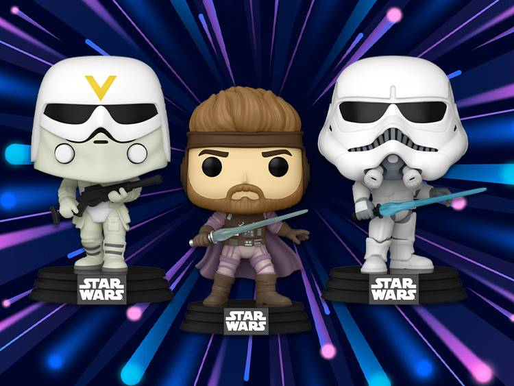 Brand New: Star Wars Concept Pops!