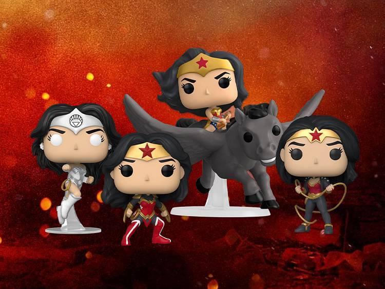 Brand New: Wonder Woman 80th Anniversary Pops!