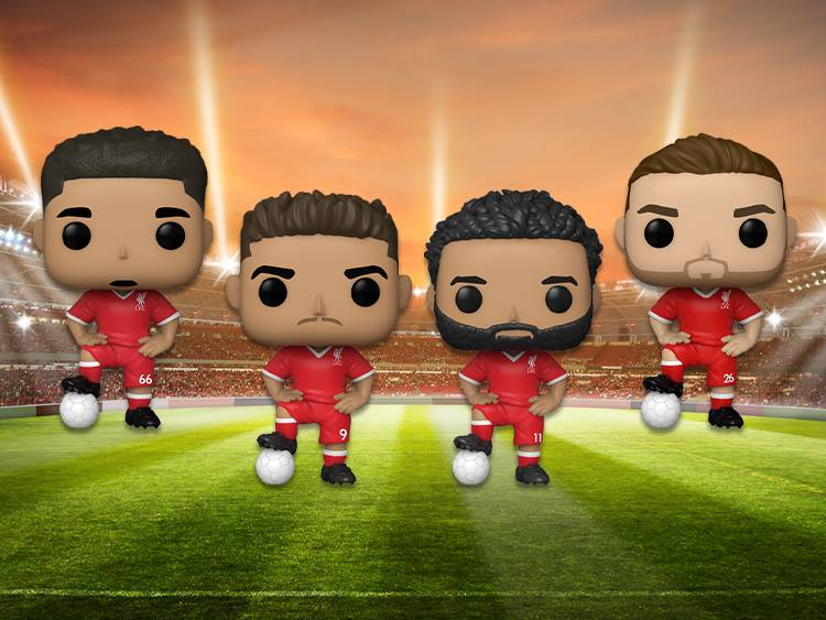 Brand New: PSG & Liverpool Football Pops