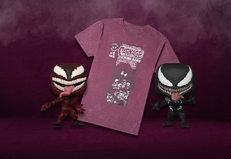 Super Offerta T-shirt + Pop! Venom Banner