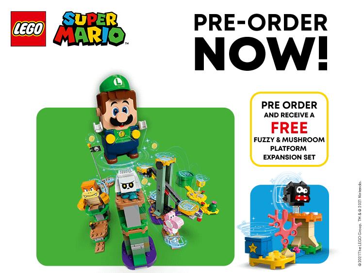 NEW LEGO Super Mario Pre-Order