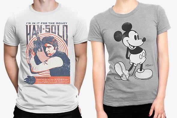 2 T-Shirt pour 24€