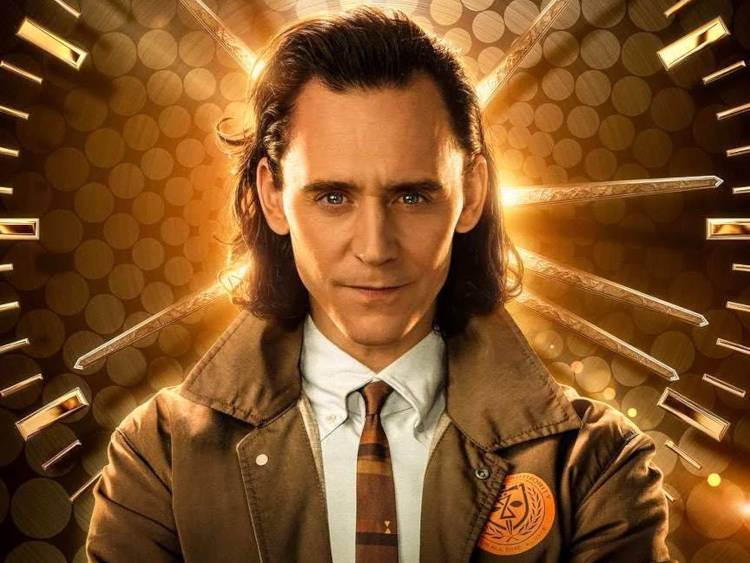 Loki in TVA brown uniform.