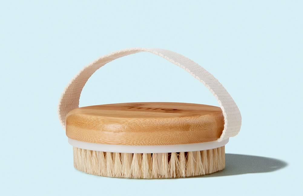 Erhalte eine GRATIS Körperbürste gegen Cellulite beim Kauf einem Workout Wonders Produkt!