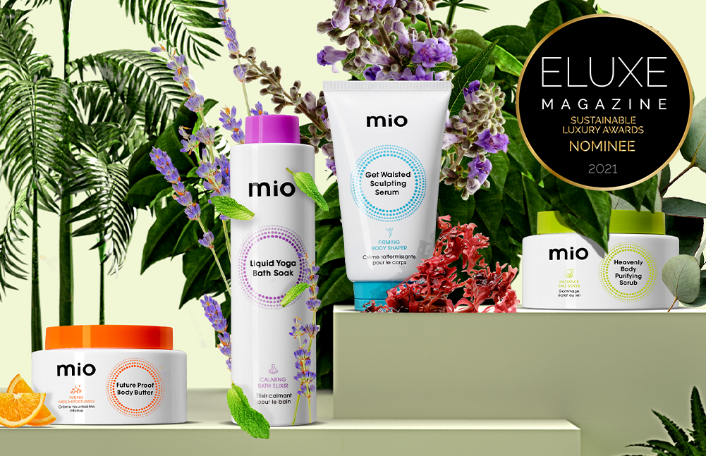 Buy one, get one half price on Mio Skincare