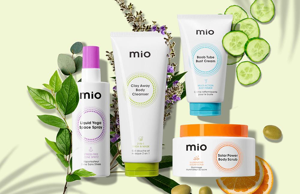 Buy one, get one half price on Mio Skincare