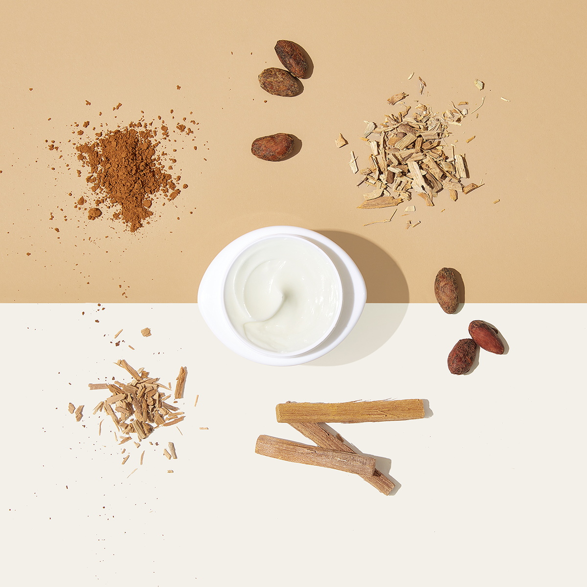 NEW Tummy Rub Butter in Cocoabean & Sandalwood