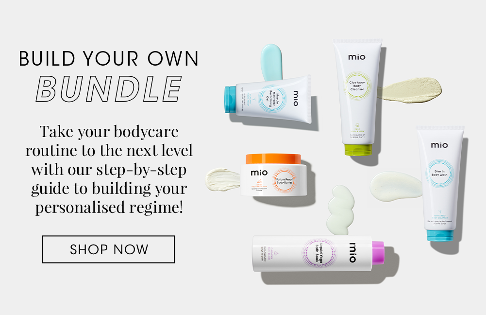 Build your own bundle of your favourite Mio products and receive 15% off